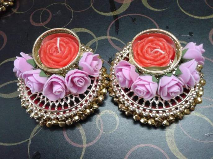 Kalpasvi Rane has made 1000 diya in Diwali | वर्सोव्यातील गतिमंद कल्पस्वीची कल्पकता!
