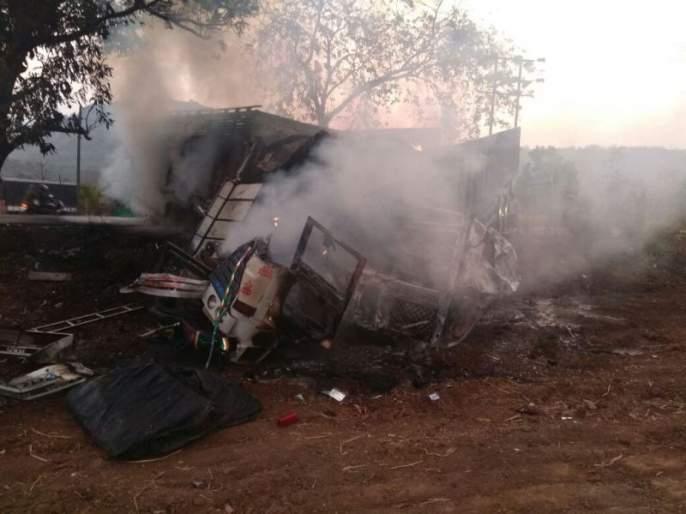 Five people die in a major accident in Lonare on Mumbai-Goa highway | मुंबई-गोवा महामार्गावर लोणेरे येथे भीषण अपघातात 5 जणांचा मृत्यू