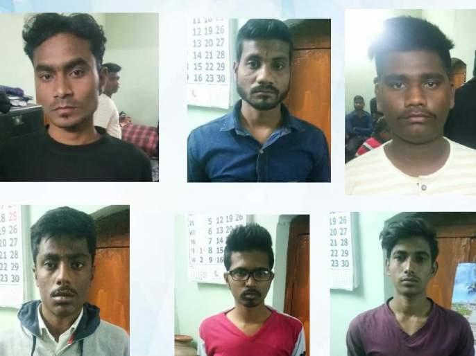 Gang of six accused robbery arrested in Nagpur | नागपुरात प्रेमीयुगुलांना लुटणारी सहा आरोपींची टोळी गजाआड
