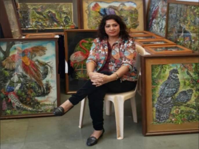 'Tiny Cutting PaperArt's Queen Mahalakshmi Wankhadekar | 'टायनी कटिंग पेपरआर्टस्'ची क्वीन महालक्ष्मी वानखेडेकर