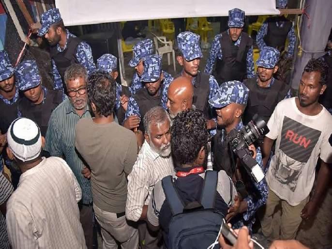 Media slug in Maldives: Two Indian journalists arrested | मालदीवमध्ये प्रसारमाध्यमांची मुस्कटदाबी : दोन भारतीय पत्रकारांना अटक