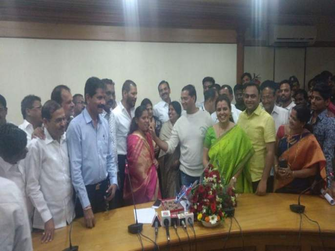 Mamta Gaikwad elected as standing Committee chairman of Pimpri-Chinchwad Municipal Corporation   पिंपरी-चिंचवड मनपा स्थायी समिती अध्यक्षपदी ममता गायकवाड निवड