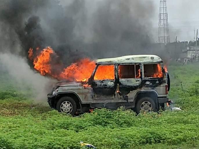 Maharashtra Bandh: Crime against eleven people in Sengav in the case of violation | Maharashtra Bandh : जाळपोळ प्रकरणी सेनगावात अकरा जणांविरोधात गुन्हे दाखल