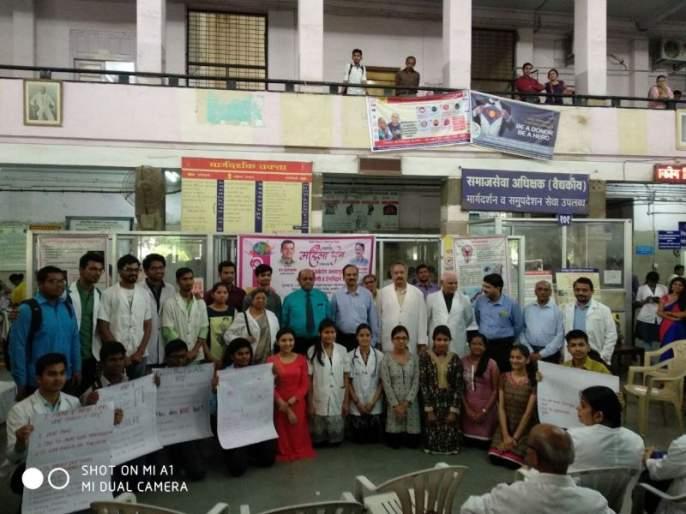 In Nagpur Medical at list 200 Women's Cancer Checks up   नागपूर मेडिकलमध्ये २००वर महिलांची कर्करोग तपासणी