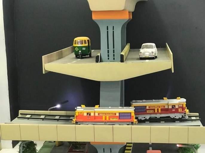 Double Deker Metro Pool appear Triple Deker | नागपुरात पूल डेबल डेकर दिसणार ट्रिपल डेकर