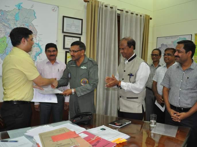 Complete the historic phase of the Mihan Project in Nagpur | नागपुरातील मिहान प्रकल्पाचा ऐतिहासिक टप्पा पूर्ण