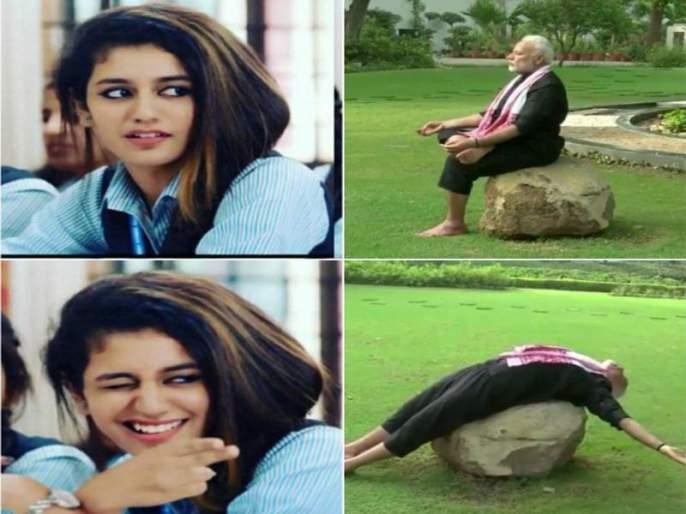 Netizens ridicule Prime Minister Narendra Modi's fitness video   पंतप्रधान नरेंद्र मोदींच्या फिटनेस व्हिडीओची 'नेटिझन्स'कडून खिल्ली