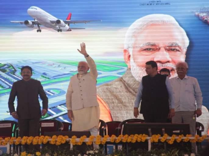 By 2022, the picture of Navi Mumbai will be shifted, air and road traffic will be big changes- Modi | 2022पर्यंत नवी मुंबईचं चित्र पालटेल, हवाई, रस्ते वाहतुकीत होतील मोठे बदल- मोदी