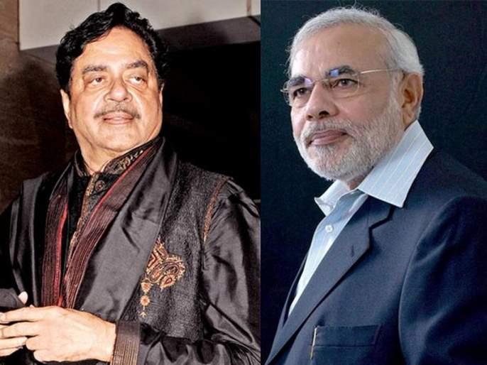Narendra Modi VS Shatrughan Sinha; Socialist ticket to 'enemy' of enemy?   नरेंद्र मोदी VS शत्रुघ्न सिन्हा; शत्रूच्या 'शत्रू'ला समाजवादीचं तिकीट?