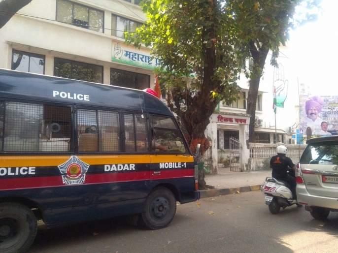 Sandeep Deshpande, along with MNS workers in police custody, attacked the Congress office | संदीप देशपांडेंसह मनसे कार्यकर्ते पोलिसांच्या ताब्यात, कॉंग्रेस कार्यालयावर हल्ला प्रकरण
