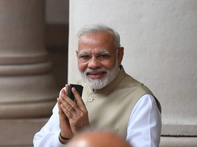 Stuttering Prime Minister's speech!   भांबावलेल्या पंतप्रधानांचे आक्रस्ताळे भाषण!