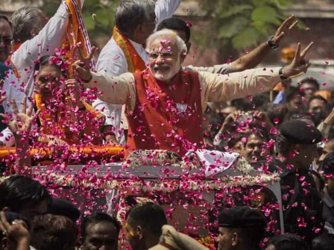 Chinese media accepts Modi's aggression, Modi brand's 2017 year | चीनी मीडियाने मान्य केला 'मोदी लाटे'चा दबदबा, 'मोदी ब्रॅण्ड'ने गाजवलं 2017 वर्ष
