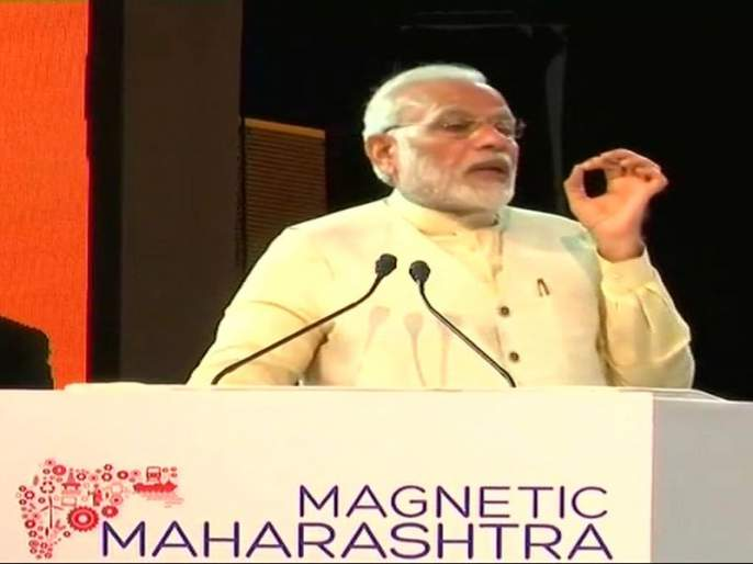 It is not difficult to achieve any goal in Shivaji Maharaj's land - Narendra Modi   शिवाजी महाराजांच्या भूमीवर कुठलेही लक्ष्य प्राप्त करणे कठीण नाही - नरेंद्र मोदी