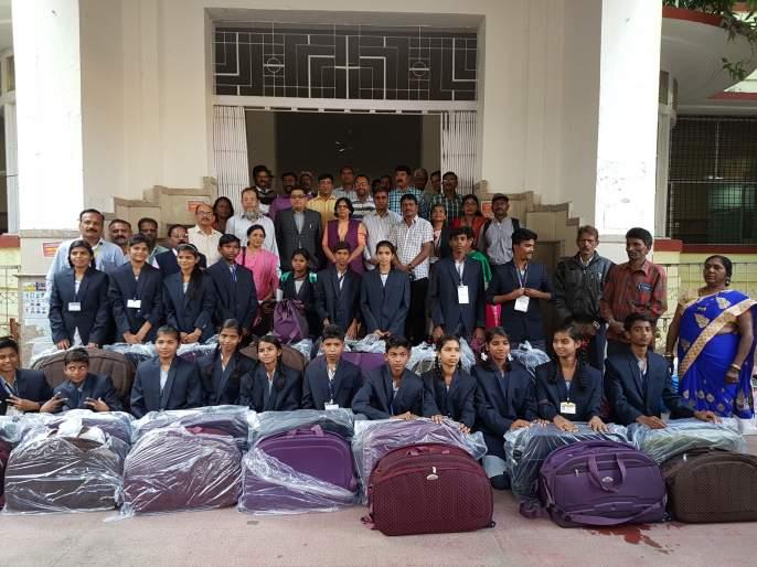 21 students of Nagpur Municipal Corporation in the Republic Day Parade | नवी दिल्लीच्या गणराज्य दिन परेडमध्ये नागपूर मनपाचे २१ विद्यार्थी
