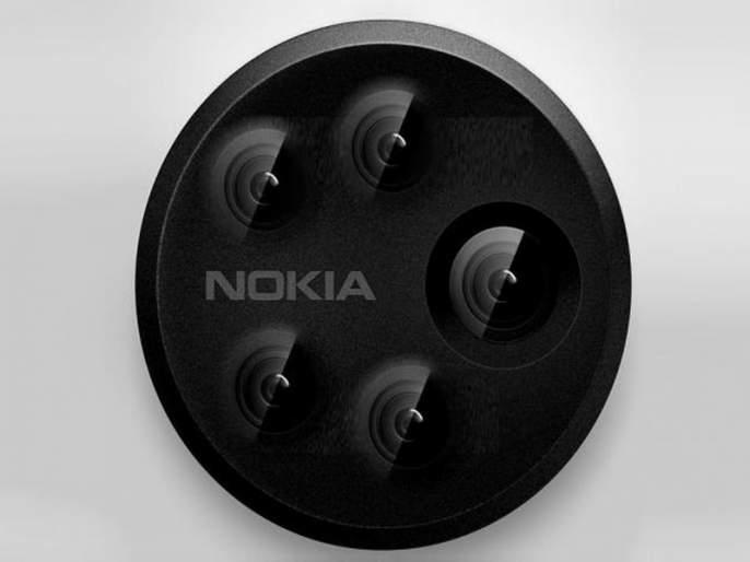 Nokia jumps ahead; reportedly testing new smartphone with 5 camera | फोटो काढणं आणखी सोपं, नोकिया घेऊन येतोय पाच कॅमेऱ्यावाला स्मार्टफोन