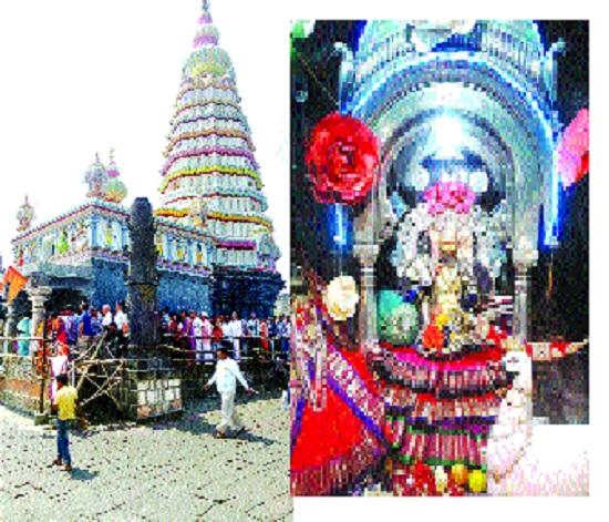 Aundh: Today's Ashtami festival will be celebrated by the devotees of the holy city: Various programs, devotional atmosphere in Aundh   औंध : मूळपीठ डोंगर भाविकांनी फुलणार आज अष्टमी उत्सव : औंधमध्ये भक्तिमय वातावरण