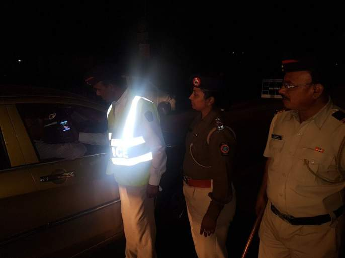 Hinjewadi Transport Department has 166 DD cases registered in Pune | हिंजवडी वाहतूक विभाग१६६ डीडी केसेस करीत पुण्यात अव्वल