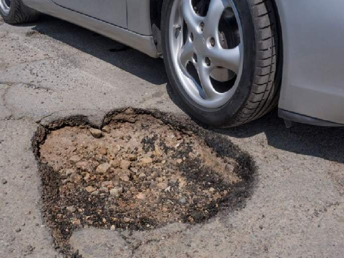 Strike 'Okhi' on roads, pull potholes again on the head | रस्त्यांना 'ओखी'चा तडाखा, खड्ड्यांचे दुखणे पुन्हा डोके वर काढणार