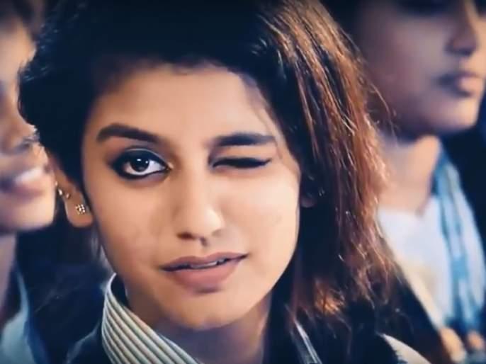 Priya Warrior Instagram, who gets angry with the youth, gets a post of 8 lakhs | तरुणाईला वेड लावणारी प्रिया वारियर इंस्टाग्रामवर सुसाट, एका पोस्टचे मिळतात 8 लाख