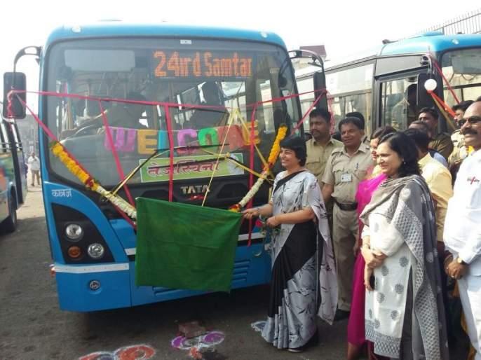 pune- special bus service for womens on eight routes | पुणे: महिला प्रवाशाना 'तेजस्विनी' भेट, आठ मार्गांवर विशेष बस सेवा