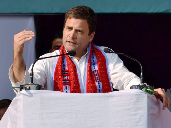 PM Narendra Modi friend run away with MGNREGA one year money says Rahul Gandhi | मोदींचा मित्र मनरेगाचा एका वर्षाचा पैसा घेऊन पळाला- राहुल गांधी