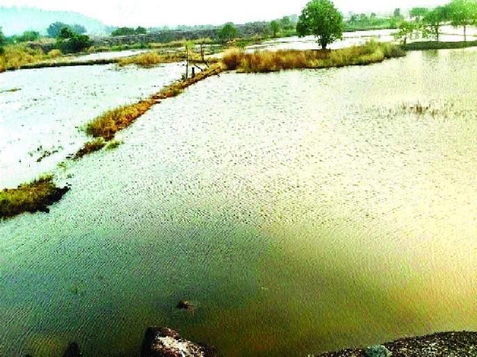 Farmers continue their efforts for the repair of the dam | बंधा-याच्या दुरु स्तीसाठी शेतक-यांचे प्रयत्न सुरू