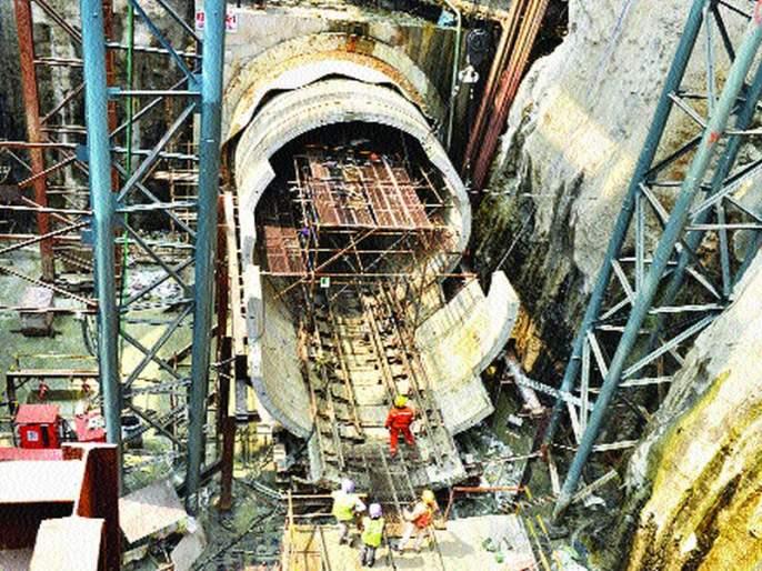 Colaba-Bandra-Seepz Metro Rail Project 3 'Krishnavtar' | कुलाबा-वांद्रे-सीप्झ या मेट्रो भुयारी मार्ग ३ प्रकल्पाचा 'कृष्णा'वतार
