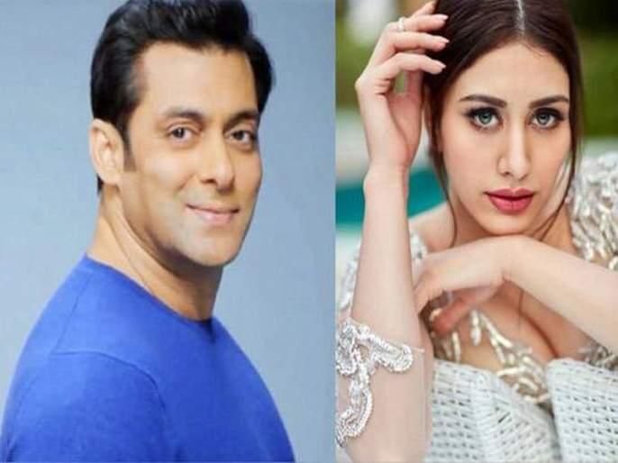 salman khan new girl warina for aayush sharma debut   सलमानच्या ट्विटमुळे चर्चेत आलेल्या कॅडबरी गर्लचा असा आहे सफरनामा