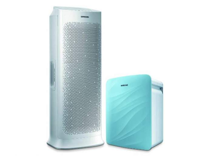 Samsung's two air purifiers | सॅमसंगचे दोन एयर प्युरिफायर