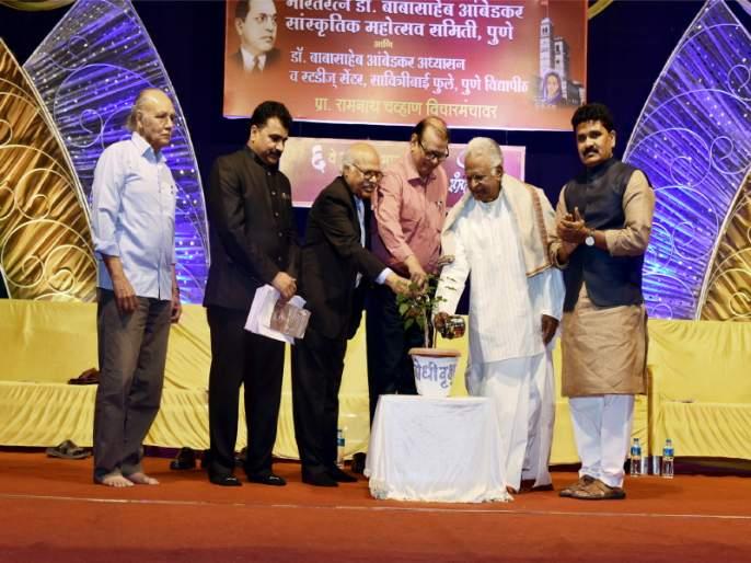 Current governance anti reforms and transformation: Dr. Yashwant Manohar; Samyak Sahitya Sammelan in Pune | आताचे शासन सुधारणा व परिवर्तनविरोधी : डॉ. यशवंत मनोहर; पुण्यात सम्यक साहित्य संमेलन