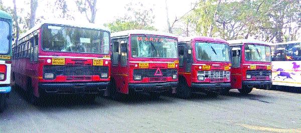 Seven buses in Sangli, Miraj | सांगली, मिरजेत सात बसेस फोडल्या