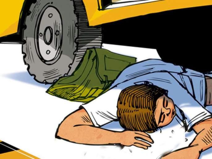 nashik,patharde,phata,truck,two,wheeler,accident,girl,death | पाथर्डी फाट्यावर ट्रक दुचाकी अपघातात युवतीचा मृत्यू