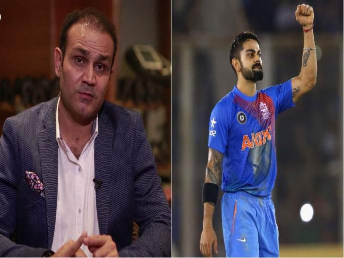 India vs South Africa: Virat Kohli should drop himself if he fails, says angry Virender Sehwag | कोहलीने स्वत:ला संघाबाहेर ठेवायला हवे, विराट कोहलीवर संतापला सेहवाग