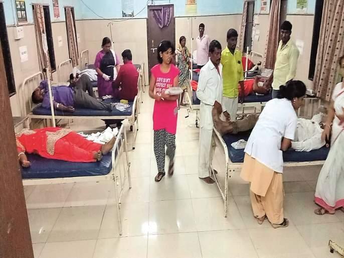 Crime against 66 people accused in Sringoda's caste panchayat | श्रीगोंदायेथील जात पंचायतमधील हाणामारीप्रकरणी६६ जणांविरोधात गुन्हा
