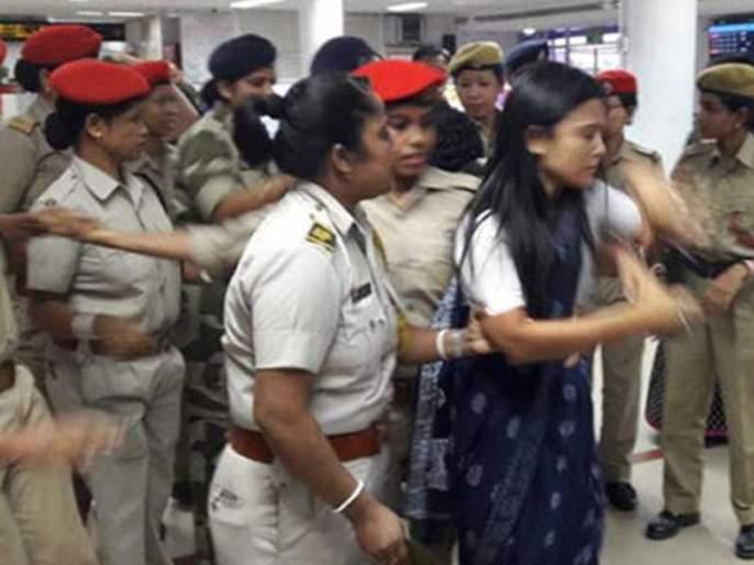 Six Trinamool leaders leave Assam after being detained overnight at Silchar airport | आसाममध्ये गेलेले तृणमूलचे नेते परतले माघारी, विमानतळावरच काढली रात्र