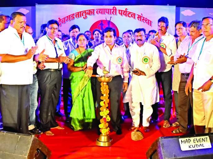 Sindhudurg: The grand launch of the 2018 celebration, Devagad taluka will be tourism oriented in future: Nitesh Rane | सिंधुदुर्ग : जल्लोष २0१८ चा शानदार शुभारंभ, देवगड तालुका पर्यटनदृष्ट्या भविष्यात अग्रेसर गणला जाईल: नीतेश राणे