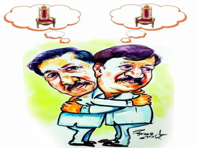 editorial view on Politics of Solapur   देशमुखी थाट! खुर्ची, दोस्ती अन् दुनियादारी...