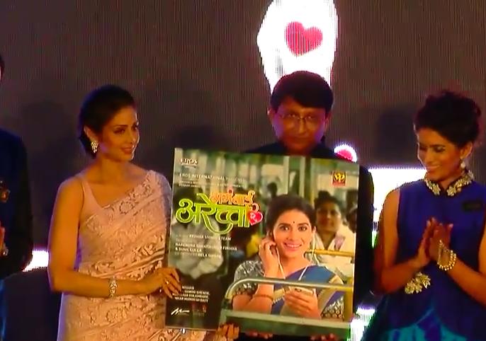 Sridevi's dream to work in a Marathi film is not limited | मराठी चित्रपटात काम करण्याचं श्रीदेवीचं स्वप्न राहिलं अधुरं