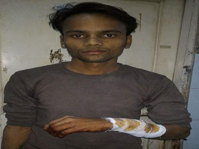 suport to injured in civil Hospital | डॉक्टरांच्या बंद दरम्यान जखमीला जिल्हा रुग्णालयाचा आधार