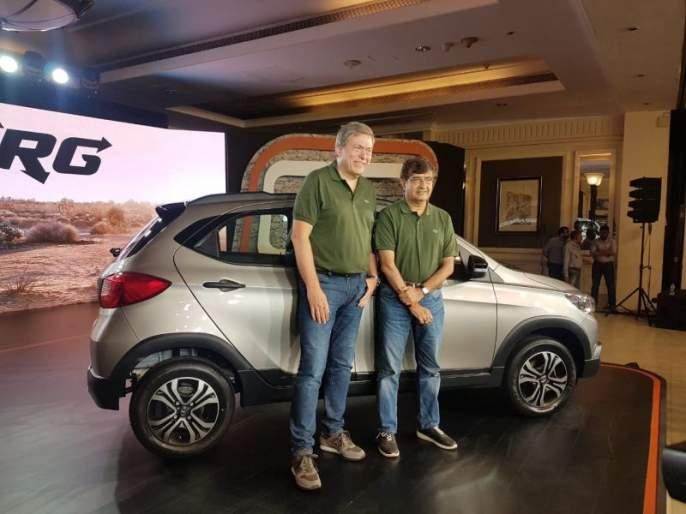 Tata Motors launches Tiago's new cross car; See what has changed ... | टाटा मोटर्सची Tiagoची नवी क्रॉस कार लाँच; पाहा काय केले बदल...
