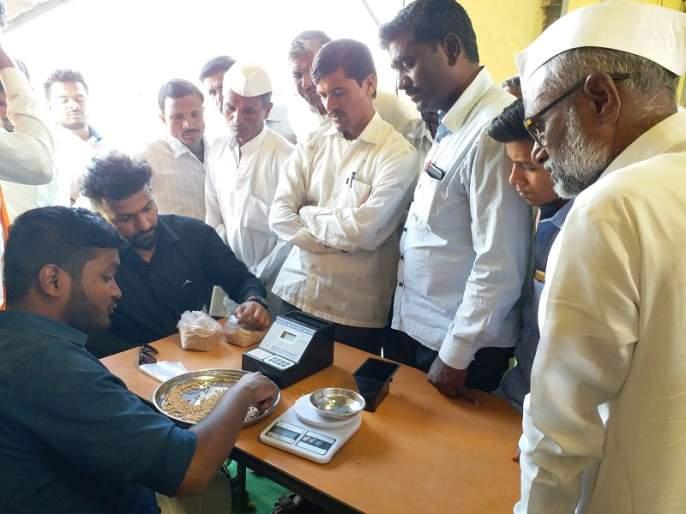 In the last phase of Aurangabad, the government started buying tur | औरंगाबादमध्ये अखेरच्या टप्प्यात शासकीय तूर खरेदीला सुरुवात