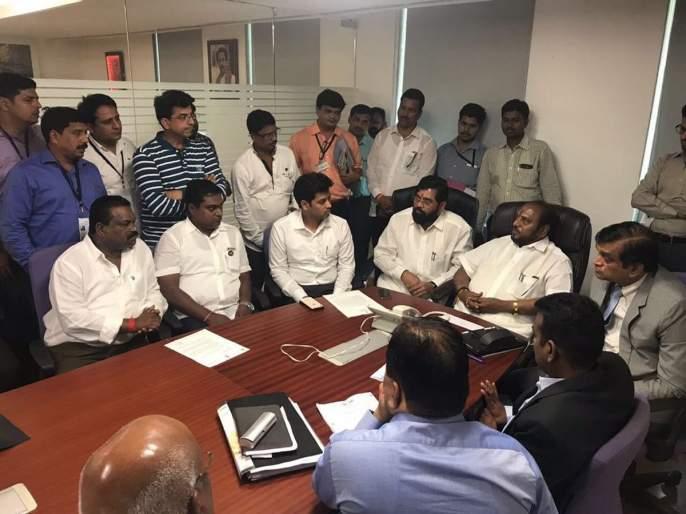 Get rid of jeans companies in Ulhasangan, eat Dr. Shrikant Shinde's state government | उल्हासनगरातील जीन्स कंपन्यांच्या बाबत तोडगा काढा, खा. डॉ. श्रीकांत शिंदे यांचे राज्य सरकारला साकडे