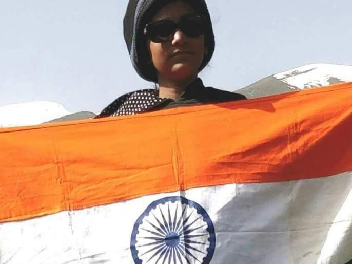 Urmi Patil's 10 year old Sangli Dal has trekked record; | सांगलीच्या १० वर्षाच्या उर्वी पाटीलने केला ट्रेकींगचा विक्रम, हिमालयातील सरपास शिखर केले सर