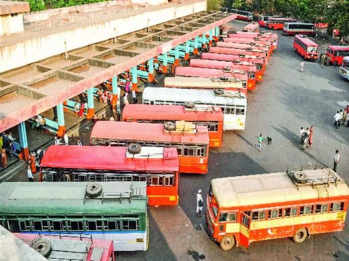 Vallabhnagar Depot: Security system Ram Bharose; Closed police help centers, passengers in a panic environment | वल्लभनगर आगार : सुरक्षाव्यवस्था रामभरोसे; पोलीस मदत केंद्र बंद, प्रवाशांमध्ये भीतीचे वातावरण