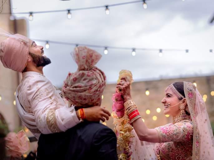 virushka wedding announcement became golden tweet of the year | #Virushka विरुष्काच्या लग्नासंबंधीचं ट्विट बनलं 'गोल्डन ट्वीट'