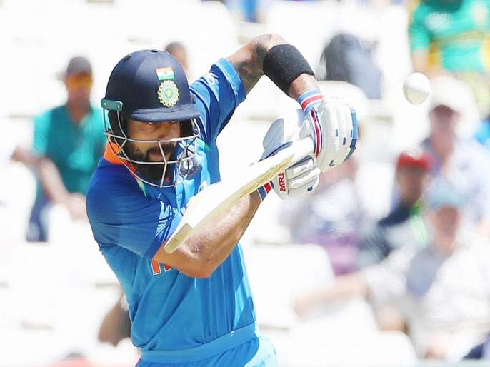 Virat Surat! Chasing 34th ODI century | विराट सुसाट! फटकावले 34 वे वनडे शतक