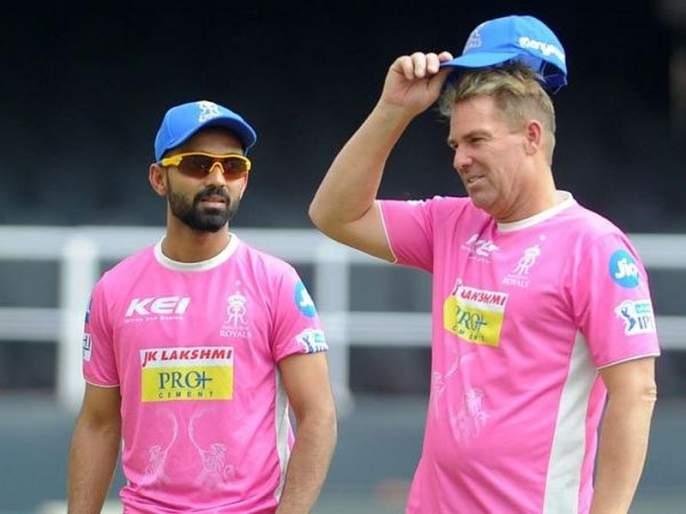 IPL 2018: Big blow to Rajasthan; Shane Warne to leave the team and return home   IPL 2018 : राजस्थानला मोठा धक्का; शेन वॉर्न संघ सोडून मायदेशी परतणार