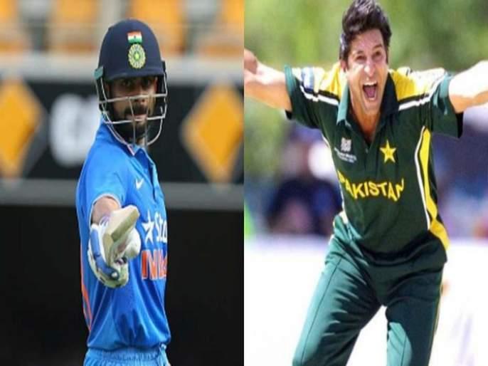It would have been difficult for me to bowl Virat Kohli - Wasim Akram | विराट कोहलीला गोलंदाजी करणं मलाही कठीण गेलं असतं - वसीम अक्रम