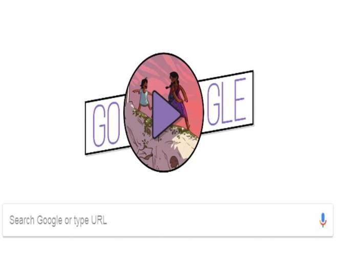 google celebrates international womens day with its special colorful doodle | International Women's Day 2018: गुगलची डुडलच्या माध्यमातून स्त्री शक्तीला मानवंदना, सांगितली महिलेच्या ताकदीची कहाणी