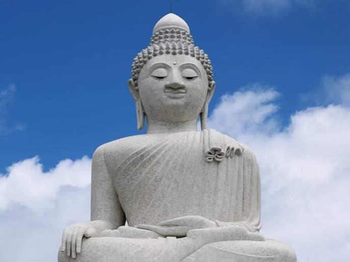 Due to the arrest of Buddha | बुद्धाच्या मुर्तीला अटक